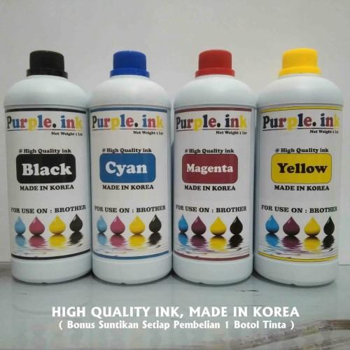 Foto Produk Tinta isi ulang / Refill untuk printer BROTHER ( isi 1 Liter ) dari KENANGA-COM