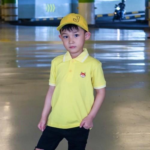 Foto Produk Polo Shirt Anak-Anak Warna Kunin Usia 1-9 Tahun| P011 by Little Jergio - XXXL dari Little Jergio