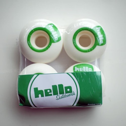 Foto Produk Mini Hello series Green /53mm/101A dari Hello Skateboards