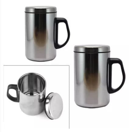 Foto Produk Thermos Mug Termos Cangkir Gelas Minum Air Panas Dingin Stainless dari Stofer Shop
