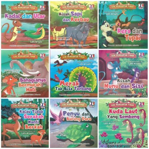 Foto Produk Buku Cerita Anak Seri Pengantar Tidur 2 Bahasa Bergambar Berwarna dari Kedai Kadoku