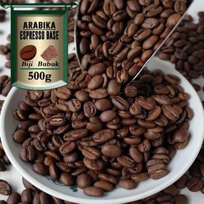 Foto Produk Kopi Arabika Gayo Espresso Base 500g - Bubuk Halus, AZA Label dari Azacoffee