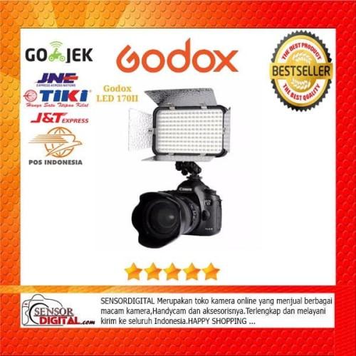 Foto Produk Godox LED 170 II Video Lamp Light For Videography Photo journalistic dari sensordigital