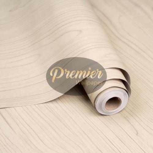 Foto Produk Wallpaper Kayu Plain Abu Hijau  45M x 10M dari Premier Wallpaper