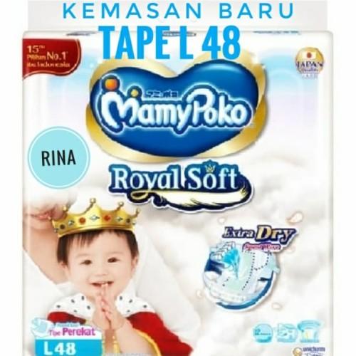 Foto Produk Mamypoko Mamy Poko Tape L isi 48 dari Rina