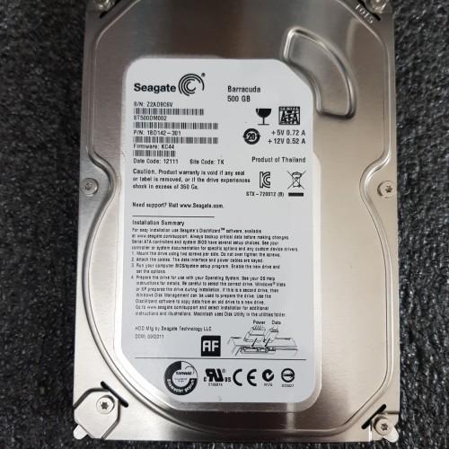 Foto Produk hardisk pc 500gb seagate sata dari Starwan kom