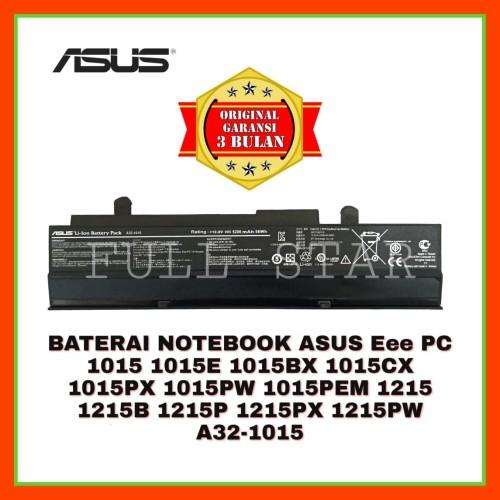 Foto Produk Baterai Notebook Asus Eee PC 1015 1015CX 1015E 1015PW 1015PX 1015BX dari FULL STAR