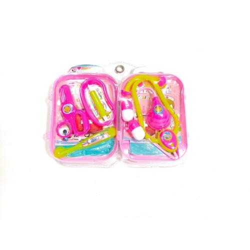 Foto Produk Mainan Anak Perempuan Dokter Dokteran Set Koper | Mainan Dokter Anak dari Babyboo Mlg