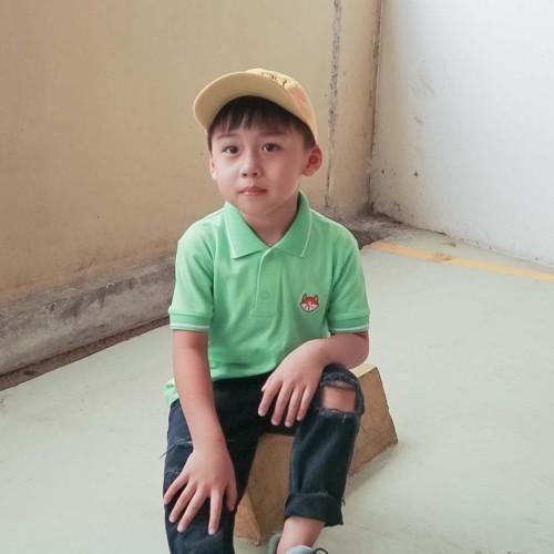 Foto Produk Polo Shirt Anak-Anak Warna Hijau Usia 1-9 Tahun| P013 by Little Jergio - SMALL dari Little Jergio