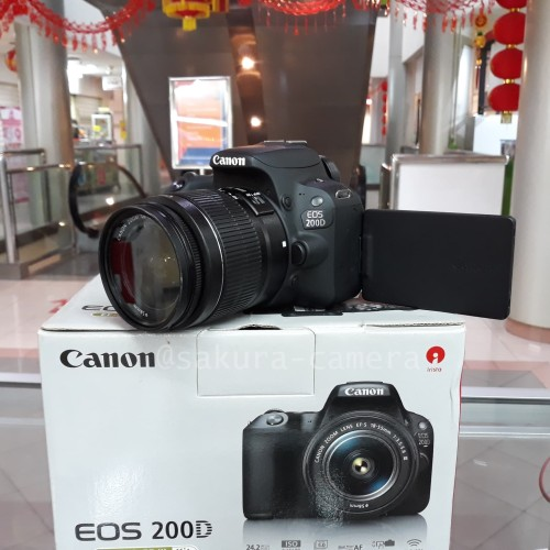 Foto Produk Canon 200d kit 18-55mm dari SAKURA CAMERA