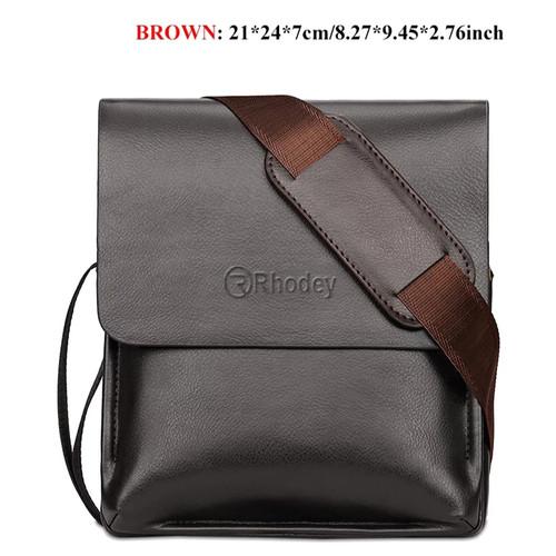 Foto Produk Tas Selempang/tas slempang sling bag Pria kulit Mighty Pegasus - Cokelat dari variannet