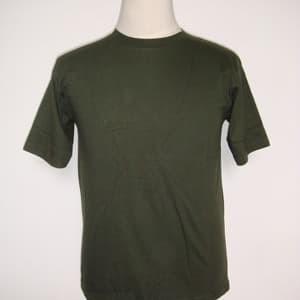 Foto Produk Kaos polos hijau army tua ukuran XS - XXXL cotton combed - Hijau, XS dari Snake collection
