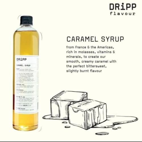 Foto Produk DRiPP Caramel Syrup Sirup Dripp Flavour Ori dari ucell cempaka