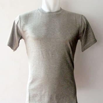 Foto Produk Kaos polos abu misty muda ukuran XS - XXXL cotton combed - Abu Misty Muda, XS dari Snake collection