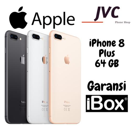 Jual Apple Iphone 8 Plus 64gb 100 Original Garansi Resmi Ibox Jakarta Barat Jvc Phone Tokopedia