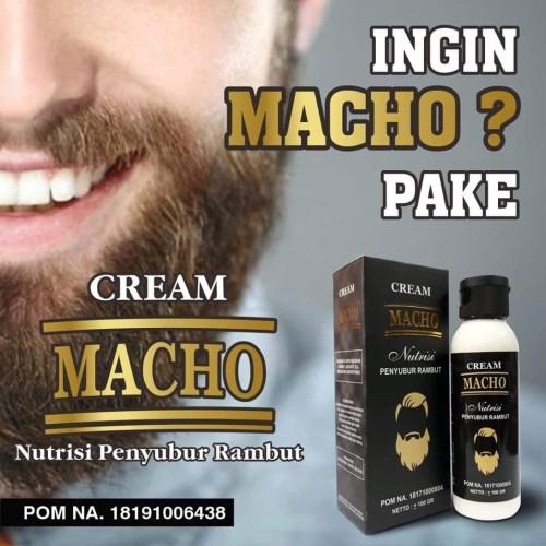 Foto Produk CREAM MACHO | CREAM PENUMBUH RAMBUT dari zhamamy herbatonik