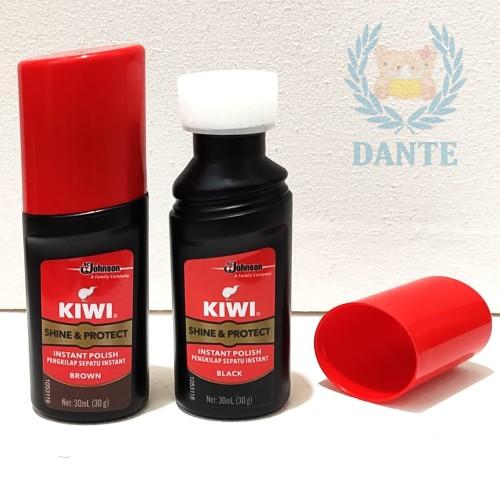 Foto Produk Semir Sepatu Cair KIWI Shine & Protect Warna Hitam - Hitam dari Dante