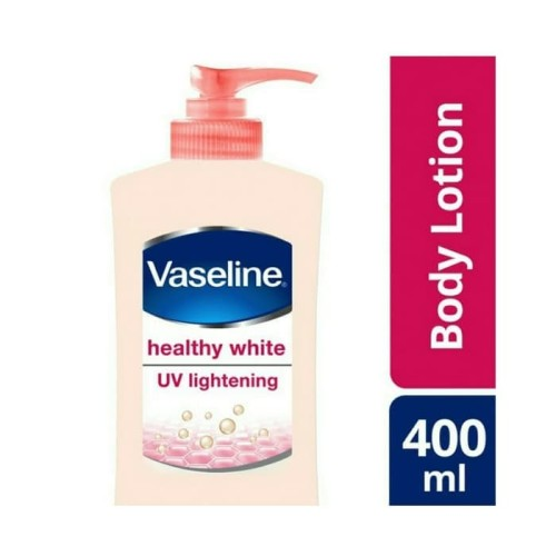Foto Produk VASELINE Healthy White UV Lightening Lotion 400ml dari Cinderellyshops