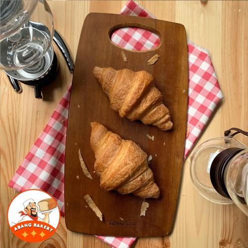 Foto Produk Supplier Cafe| Croissant Butter Besar PREMIUM|Croisant Plain Roti 80gr dari Abang Bakery