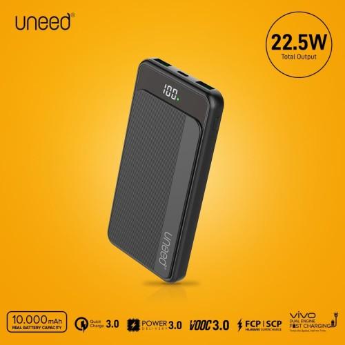 Foto Produk UNEED QuickBox 108 Powerbank 10000mAh VOOC 3.0, QC 3.0,PD 3.0, Samsung dari Uneed Indonesia