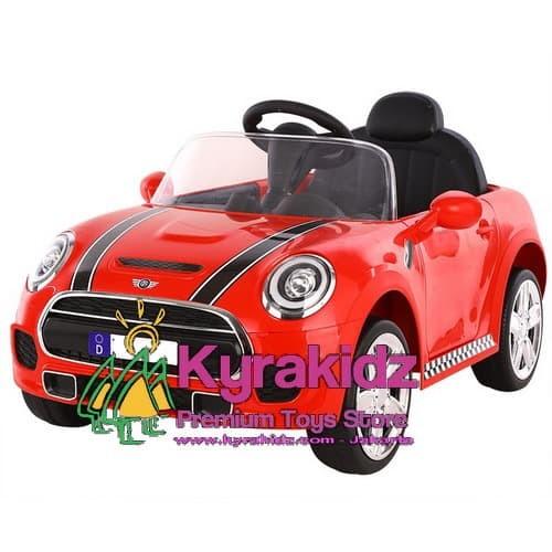 Foto Produk Mainan Mobil Aki Anak Mini Cooper dari KYRAKIDZ
