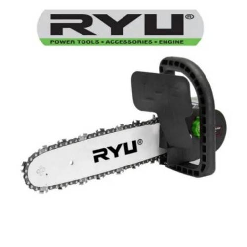 Foto Produk RYU AC-BK150 Mini Chainsaw Chain Saw Adaptor Mesin Gerinda Tangan RYU dari Berkat Karunia Teknik