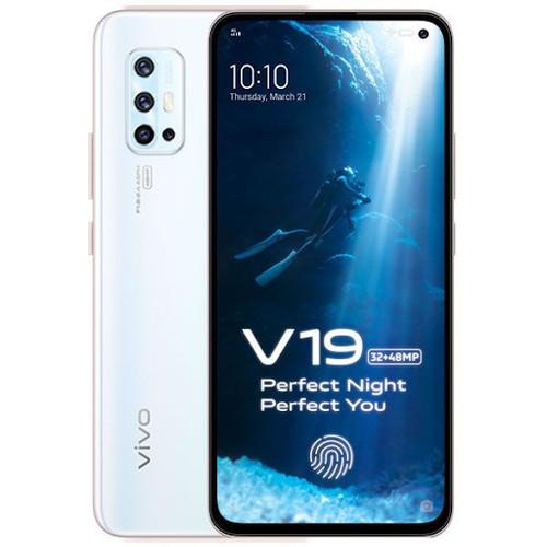 Foto Produk Vivo V19 Smartphone - 8/128GB - Garansi Resmi - Crystal White dari Gadhet-Holic