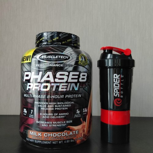 Foto Produk Muscle Phase8 Protein Tech 4lb dari Solid-Store