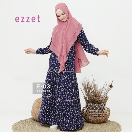 Foto Produk Gamis EZZET E-03 Size S to L dari FarraShop