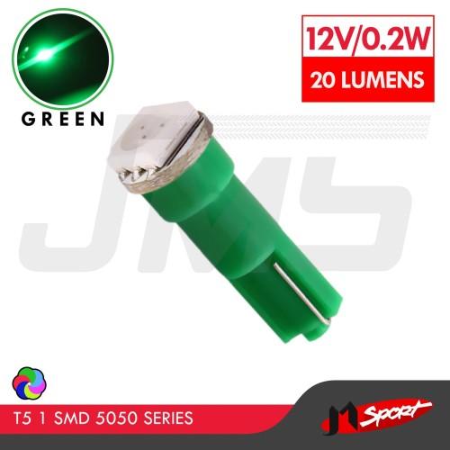 Foto Produk Lampu LED Mobil / Motor / Speedometer / Dashboard T5 1 SMD 5050 -Green dari Jaya Motorsport
