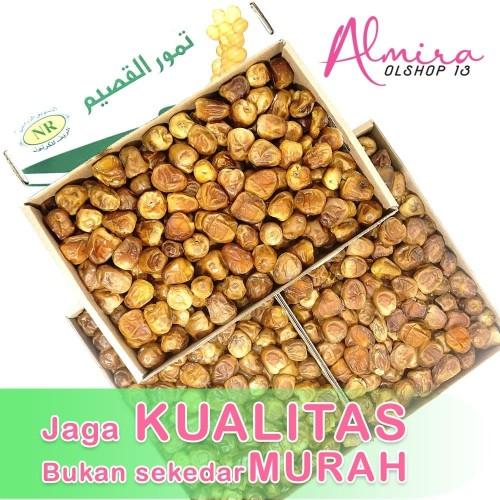 Foto Produk Kurma Raja Sukari Sukkari Kemasan 3 kg Asli Original dari almira olshop13