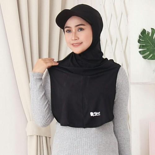 Foto Produk New! Topi Hijab Sport Instant Long Runner - TOPI MAROON dari Hitjab