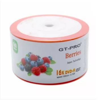 Foto Produk DVD-R GTP-RO Berries DVD R Blank DVDR GTPRO Berries dari PojokITcom Pusat IT Comp