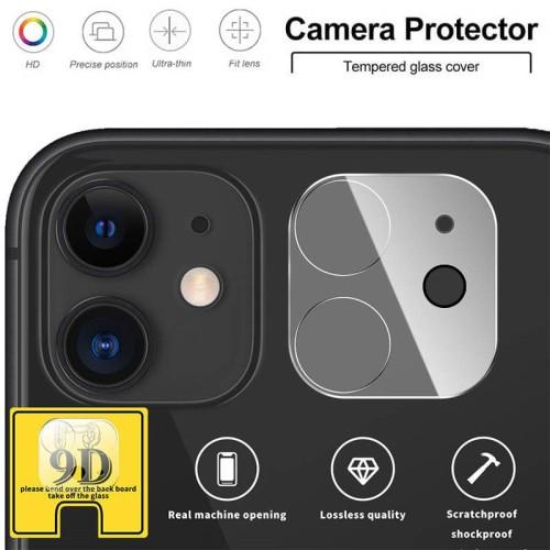 Foto Produk LP Full Camera Ring Tempered Glass iPhone 11 - Cover Lensa Lens Kaca dari Logay Accessories
