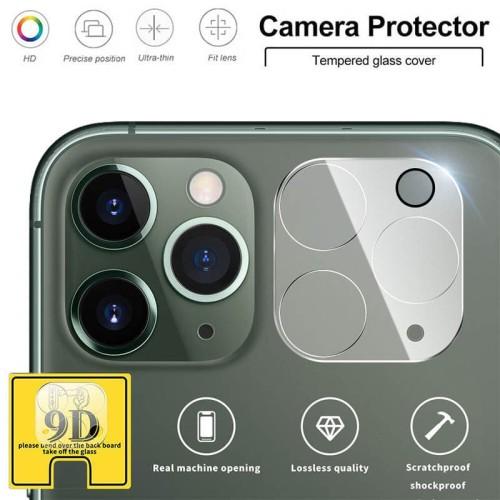 Foto Produk LP Full Camera Ring Tempered Glass iPhone 11 Pro - iPhone 11 Pro Max dari Logay Accessories