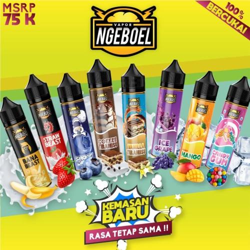 Foto Produk NGEBOEL 60ML ALL VARIAN Liquid Cukai Vape Vapor Eliquid Ejuice Rokok dari Vapor Ngeboel