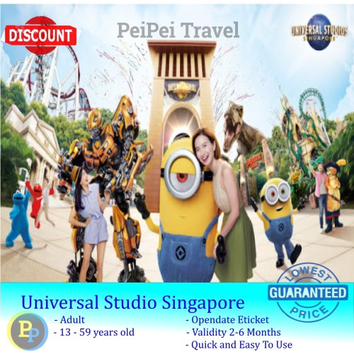 Foto Produk tiket universal studio singapore / USS dari PeiPei Travel