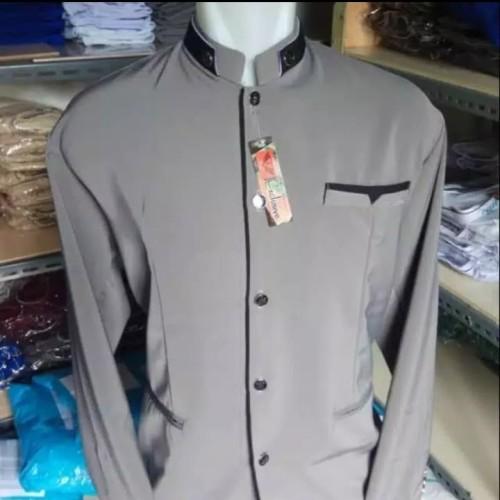 Foto Produk jasko/Jas koko / fashion pria muslim masa kini - Hitam dari nendys bag colection
