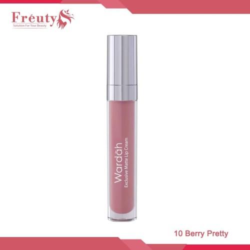 Foto Produk Wardah Exclusive Matte Lip Cream 10 Berry Pretty 4g dari Freuty Beauty