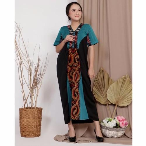 Foto Produk Dress Batik Tenun Anyelir dari Rhani Collection