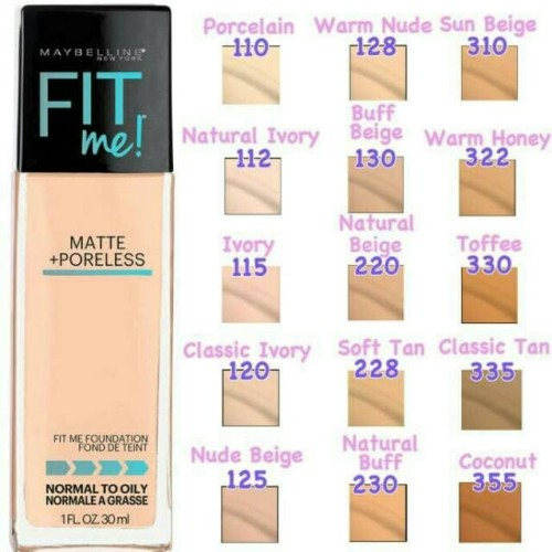 Foto Produk Maybelline Foundation FIT ME dari CTG SUPPLIER COSMETIC