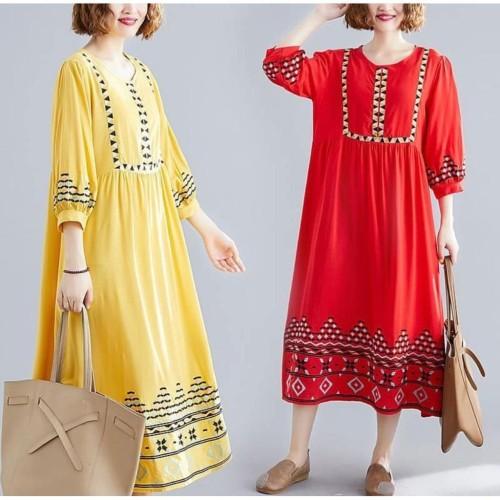 Foto Produk Damai fashion jakarta - baju DRESS muslim gamis wanita SOFIA - Hitam dari LV.co Tanah abang