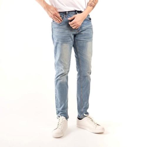Foto Produk celana panjang jeans navy / celana jeans panjang pria / skinny jeans - Biru Muda, 31 dari Brotherholicstore
