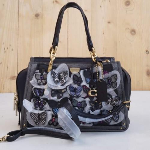 Foto Produk Coach Dreamer With Butterfly Applique Black Multi dari ferliarj16