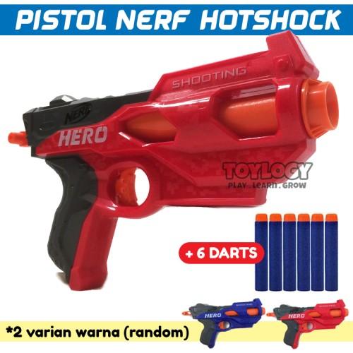Foto Produk Mainan Anak Laki Pistol N-Strike Elite Hotshock SHOOTING HERO Gun dari Toylogy