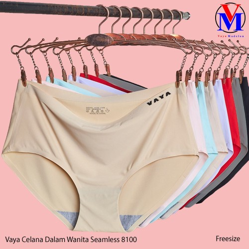 Foto Produk Vaya Celana Dalam Wanita Seamless - 8100 FREESIZE, Cream dari VAYA MADELON