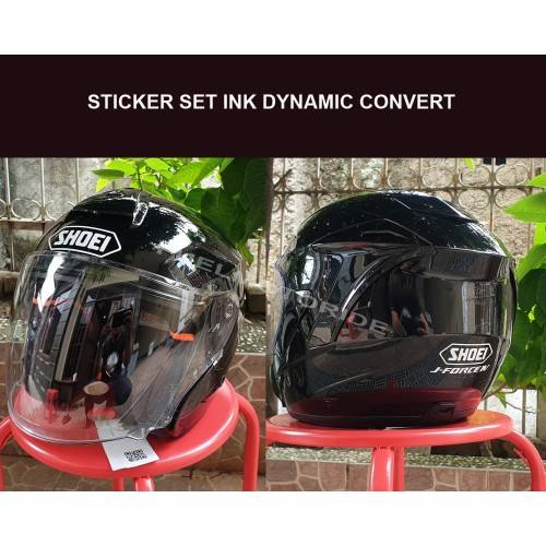 Foto Produk Sticker Set Helm INK Dynamic Convert Shoei JForce J Force dari Fuel