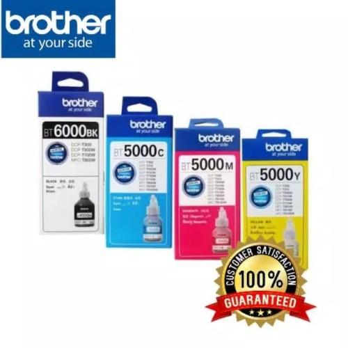Foto Produk Paket 1 Set Tinta Brother BT5000 & BT6000 Original dari myprint.