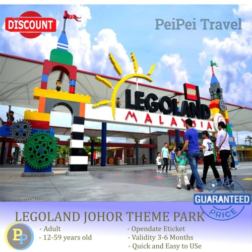 Foto Produk Tiket Legoland Malaysia Termurah dewasa dari PeiPei Travel