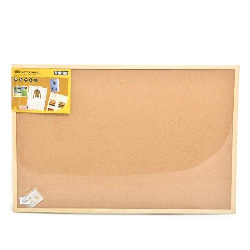 Foto Produk Bi-Silque Cork Board Papan Buletin 90x60 Cm dari toy house